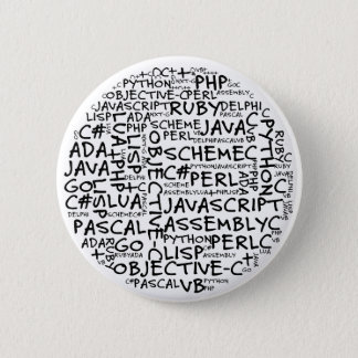 Bóton Redondo 5.08cm Os programadores têm habilidades de programação