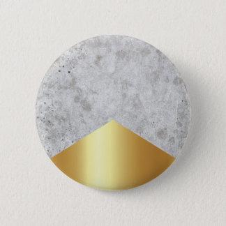 Bóton Redondo 5.08cm Ouro concreto #372 da seta