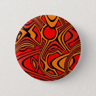 Bóton Redondo 5.08cm Outono