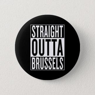 Bóton Redondo 5.08cm outta reto Bruxelas
