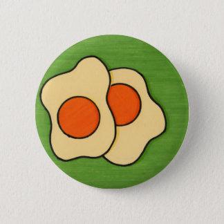 Bóton Redondo 5.08cm Ovos em uma placa