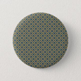 Bóton Redondo 5.08cm Padrão das bolinhas, botão redondo da polegada de
