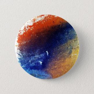 Bóton Redondo 5.08cm Padrão de cores, botão redondo da polegada de 2 ¼