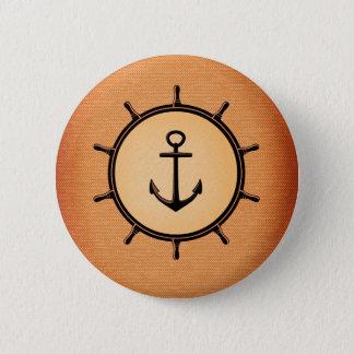 Bóton Redondo 5.08cm Padrão náutico, botão redondo da polegada de 2 ¼