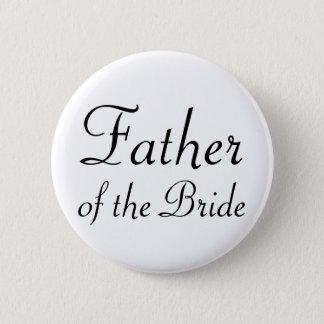 Bóton Redondo 5.08cm Pai do botão de Pinback da noiva