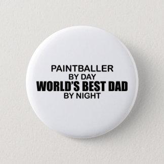 Bóton Redondo 5.08cm Paintballer - o melhor pai do mundo em a noite
