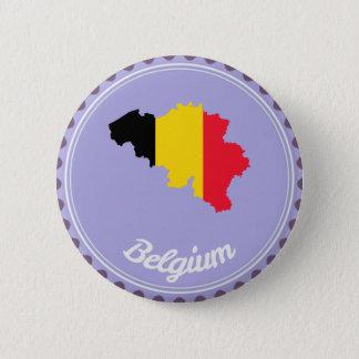 Bóton Redondo 5.08cm País de Bélgica