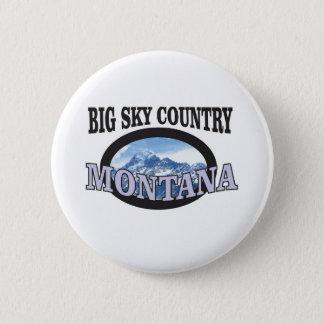 Bóton Redondo 5.08cm país grande Montana do céu