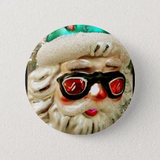 Bóton Redondo 5.08cm Papai Noel