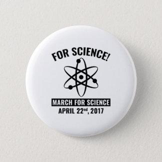 Bóton Redondo 5.08cm Para a ciência!