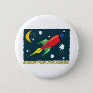 Bóton Redondo 5.08cm Para as estrelas!