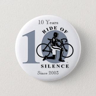Bóton Redondo 5.08cm Passeio botão anual da comemoração do silêncio do