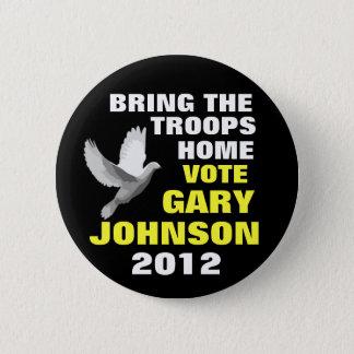 Bóton Redondo 5.08cm Paz 2012 de Gary Johnson