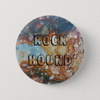 Bóton Redondo 5.08cm Pedra colorida do jaspe