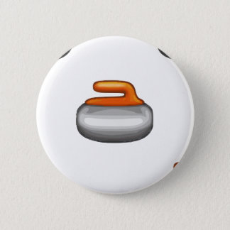 Bóton Redondo 5.08cm Pedra de ondulação de Emoji
