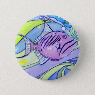 Bóton Redondo 5.08cm Peixes de Surfin