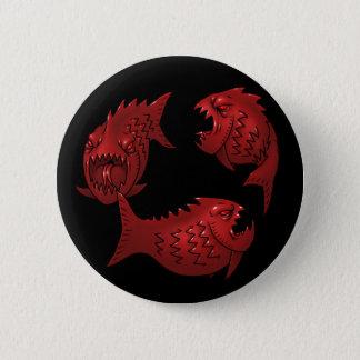 Bóton Redondo 5.08cm Peixes vermelhos