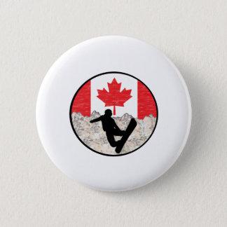 Bóton Redondo 5.08cm Pensionistas canadenses