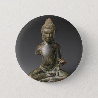 Bóton Redondo 5.08cm Período assentado de Buddha - de Pyu