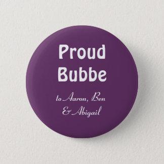 Bóton Redondo 5.08cm Personalize!  Bubbe orgulhoso