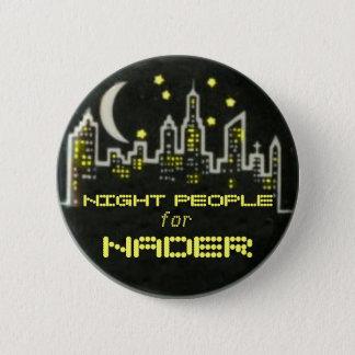 Bóton Redondo 5.08cm Pessoas do botão da noite de Nader