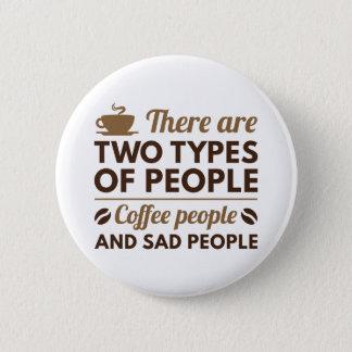 Bóton Redondo 5.08cm Pessoas do café