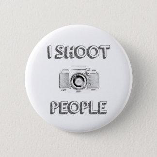 Bóton Redondo 5.08cm pessoas do fotógrafo engraçado da câmera da foto