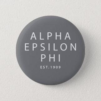 Bóton Redondo 5.08cm Phi alfa | Est do épsilon. 1909