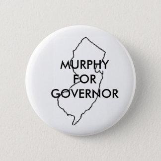 Bóton Redondo 5.08cm Phil Murphy para o governador 2017 de New-jersey