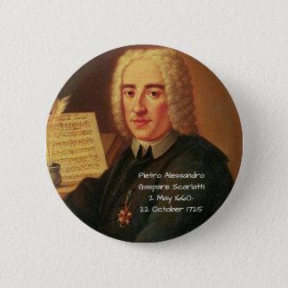 Bóton Redondo 5.08cm Pietro Alessandro Gaspare Scarlatti