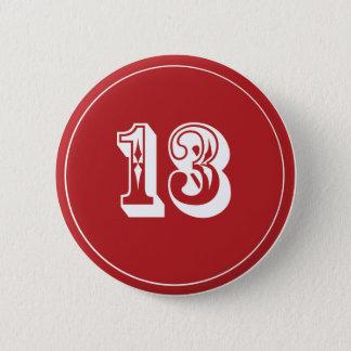 Bóton Redondo 5.08cm Pin 13