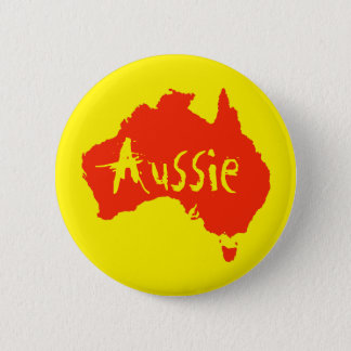 Bóton Redondo 5.08cm Pin australiano australiano do botão