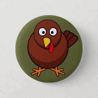 Bóton Redondo 5.08cm Pin bonito do botão de Brown Turquia