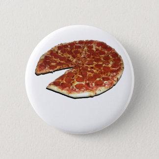 Bóton Redondo 5.08cm Pin customizável da pizza