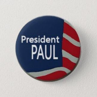 Bóton Redondo 5.08cm Pin da bandeira de Ron Paul