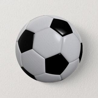 Bóton Redondo 5.08cm Pin da bola do futebol/crachá do botão