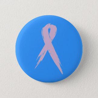Bóton Redondo 5.08cm Pin da consciência do cancro da mama