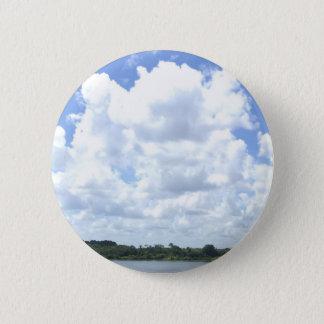 Bóton Redondo 5.08cm Pin das nuvens