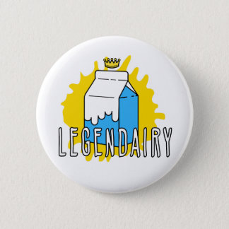 Bóton Redondo 5.08cm Pin de Legendairy