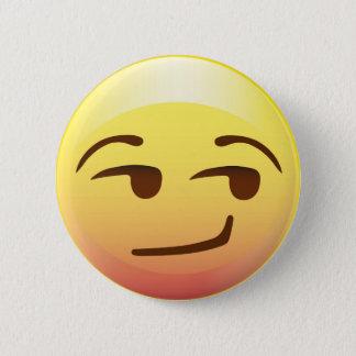 Bóton Redondo 5.08cm Pin de papel soberbo do partido de Emoji do