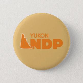 Bóton Redondo 5.08cm Pin de Yukon NDP
