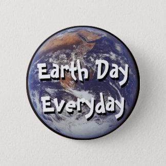 Bóton Redondo 5.08cm Pin diário do Dia da Terra