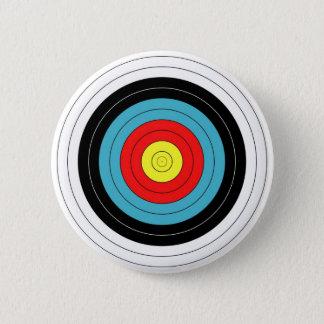 Bóton Redondo 5.08cm Pin do ALVO do TIRO AO ARCO/crachá do botão