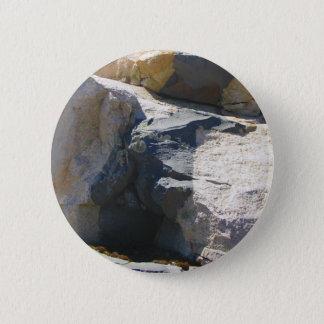 Bóton Redondo 5.08cm Pin do botão do dique da rocha do basalto