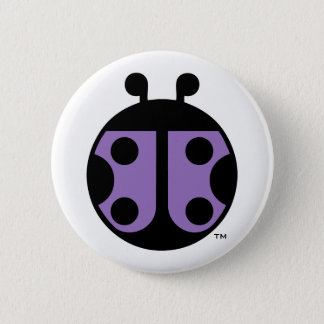 Bóton Redondo 5.08cm Pin do círculo do joaninha de PCDH19 Alliance