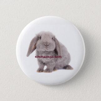 Bóton Redondo 5.08cm Pin do coelho