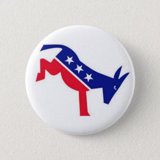 Bóton Redondo 5.08cm Pin do dom: Asno de Democrata