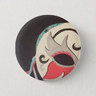 Bóton Redondo 5.08cm Pin do mascarada
