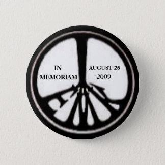 Bóton Redondo 5.08cm Pin do memorial de Ted Kennedy
