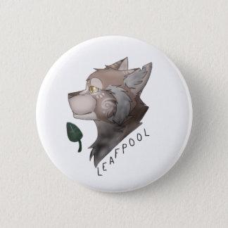 Bóton Redondo 5.08cm Pin dos gatos do guerreiro de Leafpool